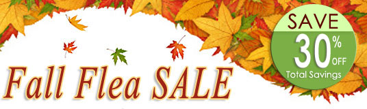 Fall Flea Savings Sale