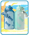 Lixit Thirsty Dog Portable Water Bottle / Bowl - 20 oz