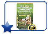 Liquid Net for Pets Insect Repellent Large Wipes