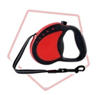 Guardian Gear Comfort Grip Retractable Leads � Jewel Tone Red/Grey